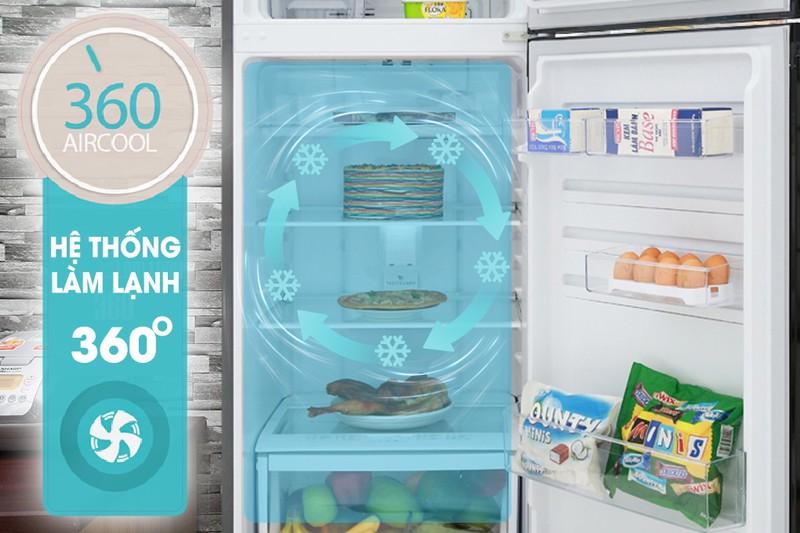 Ngăn rau Market Fresh - Tủ lạnh Electrolux Inverter 318 lít ETB3400HH