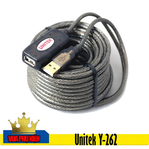 Cáp nối dài USB 20M Unitek Y-262 có chíp khuếch đại