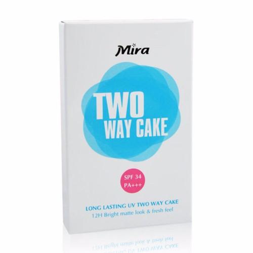 Phấn Trang Điểm Mira Two Way Cake SPF 34 Hàn Quốc 12g