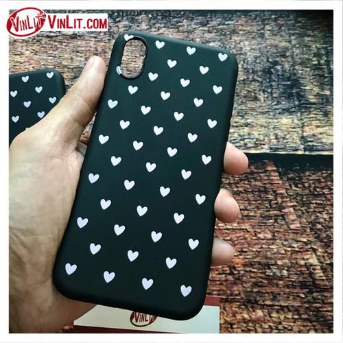 Ốp lưng Iphone họa tiết trái tim hồng đơn giản  ip 7  8