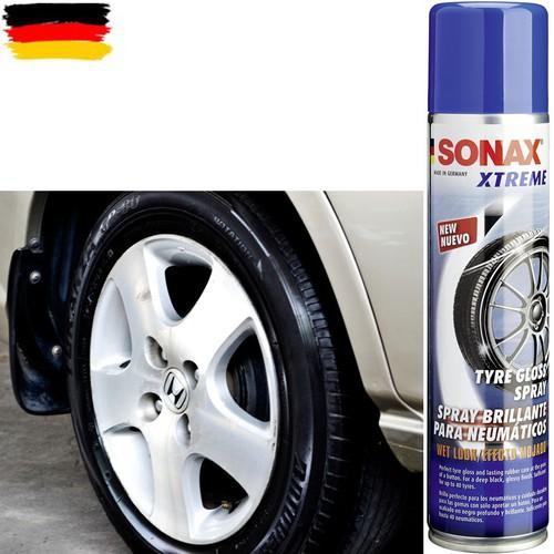 Chai xịt bảo dưỡng làm bóng lốp xe Sonax Xtreme Tyre Gloss Spray 400ml - 7255632 , 13941440 , 15_13941440 , 260000 , Chai-xit-bao-duong-lam-bong-lop-xe-Sonax-Xtreme-Tyre-Gloss-Spray-400ml-15_13941440 , sendo.vn , Chai xịt bảo dưỡng làm bóng lốp xe Sonax Xtreme Tyre Gloss Spray 400ml