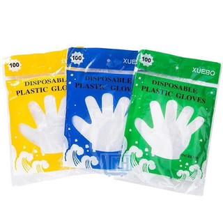 Gói 100 chiếc găng tay nilong sạch - gangtay100 thumbnail