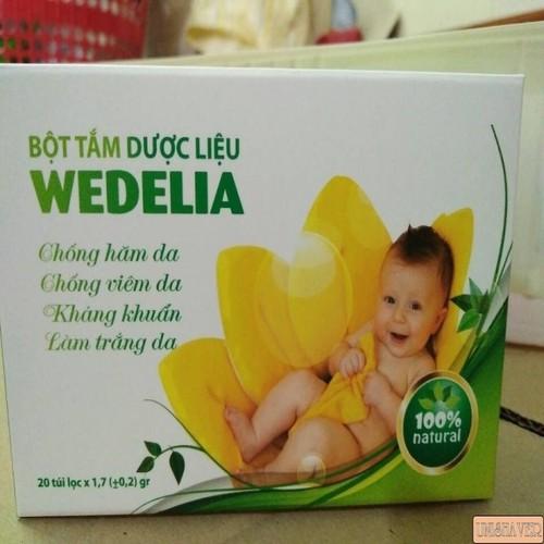 Bột tắm mát em bé _ dược liệu WEDELIA