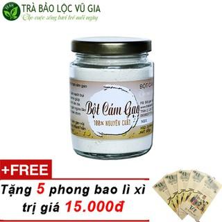 Bột Cám Gạo Nguyên Chất Vũ Gia 100gr + Tặng 5 Phong Bao Lì Xì - BCG100+10LX thumbnail