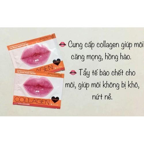 Mặt nạ môi collagen