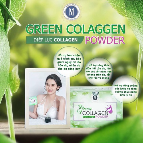 DIỆP LỤC COLLAGEN GREEN COLLAGEN POWDER