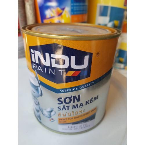 sơn dầu indu