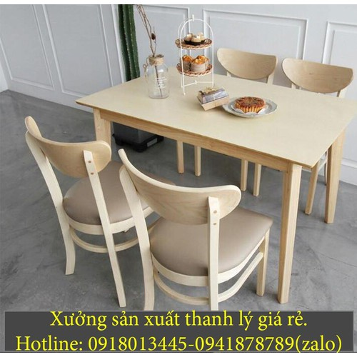 xưởng sản xuất thanh lý  ghế gỗ cafe hàng tồn kho cuối năm giá rẻ.