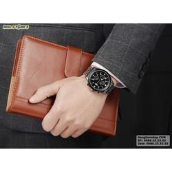 Đồng hồ nam chính hãng màu đen sang trọng HÓT NHẤT hiện nay