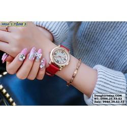 SIÊU TRỢ GIÁ! MUA 1 TẶNG 3! Đồng hồ nữ siêu hót HO-150 3 màu Trắng Đỏ Đen