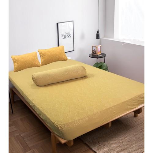 Bộ drap không mền dệt kim gấm Home Sweet Home 180 x 200 cm – Ngũ hành - Thổ