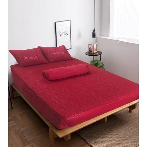 Bộ drap không mền dệt kim gấm Home Sweet Home 180 x 200 cm – Ngũ hành - Hỏa