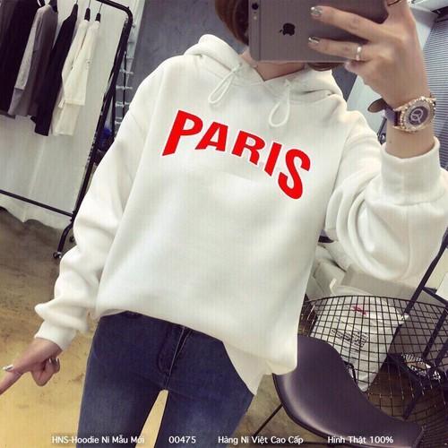 Áo hoodie paris chữ lớn - 7252641 , 13939314 , 15_13939314 , 105000 , Ao-hoodie-paris-chu-lon-15_13939314 , sendo.vn , Áo hoodie paris chữ lớn