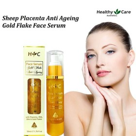 Healthy Care Anti Ageing Gold Flake Face Serum 50ml - kemhc