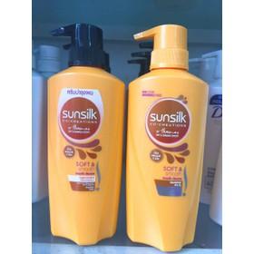 Cặp 2 chai dầu gội và dầu xả Sunsilk Thái lan - sunsilkthai