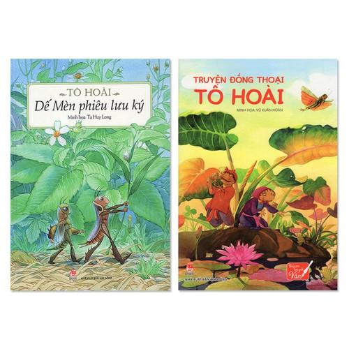 Combo 2 cuốn: Dế Mèn Phiêu Lưu Ký, Truyện Đồng Thoại Tô Hoài