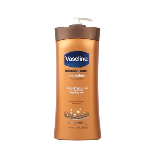 Sữa dưỡng thể Vaseline Intensive Care Cocoa Glow 725ml