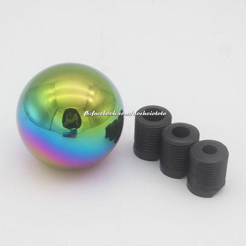 Cần số tròn nhôm dài xi 7 màu