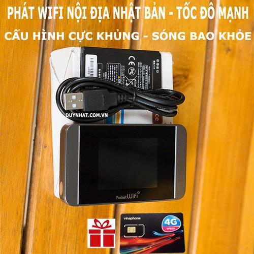 Cục phát wifi 3G 4G Pocket 304HW không dây,tặng sim 4G