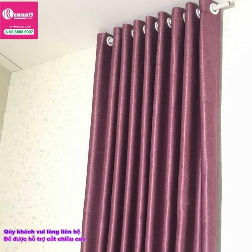 Rèm cửa sổ PH curtains 350cm-cao 130cm màu tím