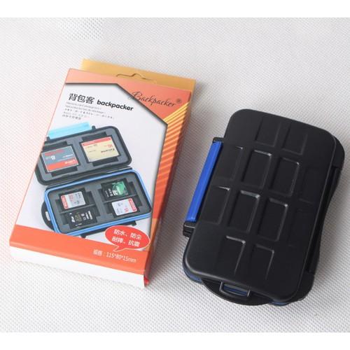 Hộp đựng thẻ nhớ chống sóc, chống nước 7 SD + 4 CF + 1 XD - 7272445 , 13953709 , 15_13953709 , 99000 , Hop-dung-the-nho-chong-soc-chong-nuoc-7-SD-4-CF-1-XD-15_13953709 , sendo.vn , Hộp đựng thẻ nhớ chống sóc, chống nước 7 SD + 4 CF + 1 XD
