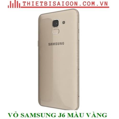 VỎ SAMSUNG J6 J600 MÀU VÀNG