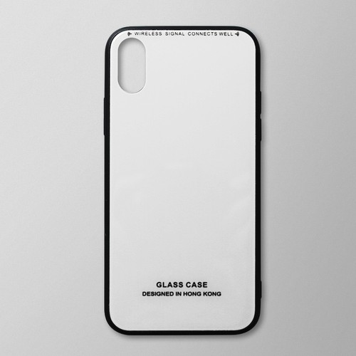Ốp lưng iPhone XS Max viền dẻo trắng