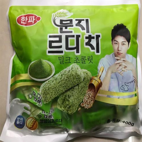 Combo 3 Bịch Bánh yến mạch Hàn Quốc trà xanh Organic 400g