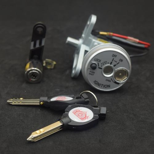 Bộ ổ khóa chống trộm 6 cạnh cho Exciter 135 150
