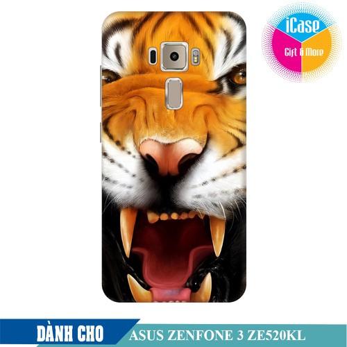 Ốp lưng nhựa dẻo dành cho Asus Zenfone 3 ZE520KL in hình Tiger