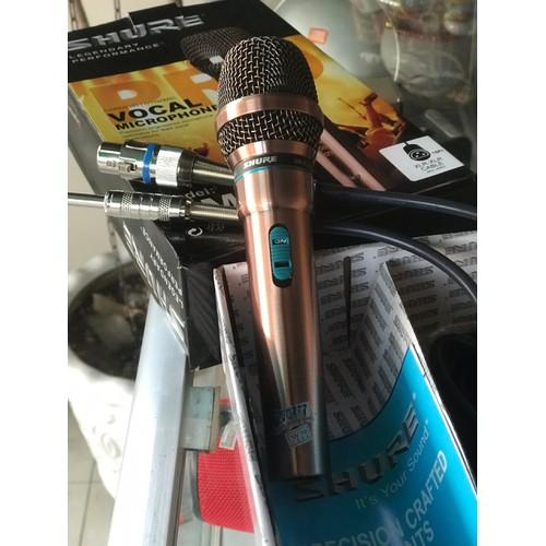 mic dây karaoke shur GM8