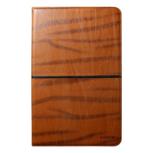 Bao da Samsung Galaxy Tab A 10.5 2018 T595 hiệu Lishen nâu