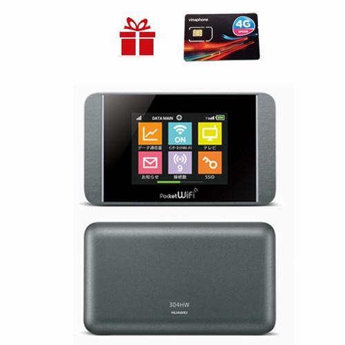 Thiết Bị Phát Wifi Từ Sim 3G 4G Pocket 304HW - Thiết Bị Phát Sóng Wifi Trên Ôto