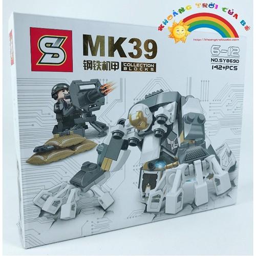 Lắp Ghép Hero Mk39 Sy869