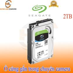 Ổ cứng gắn trong HDD 2TB Seagate Skyhawk chuyên camera chính hãng - Viễn Sơn phân phối