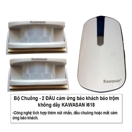 Bộ 2 hồng ngoại 1 chuông báo khách thông minh kawa I618 - 7271397 , 13953256 , 15_13953256 , 546000 , Bo-2-hong-ngoai-1-chuong-bao-khach-thong-minh-kawa-I618-15_13953256 , sendo.vn , Bộ 2 hồng ngoại 1 chuông báo khách thông minh kawa I618