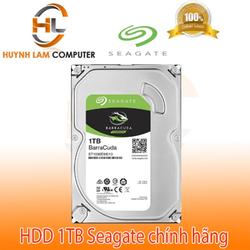 Ổ cứng gắn trong HDD 1TB Seagate Barracuda SATA3 3.5inch chính hãng - Viễn Sơn phân phối