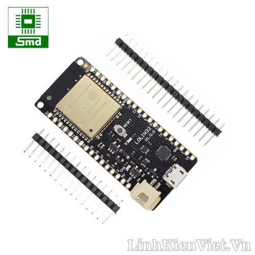 Module Wifi Bluetooth Wemos D1 V1.0.0 ESP32 CP2104 tích hợp mạch sạc pin lithium
