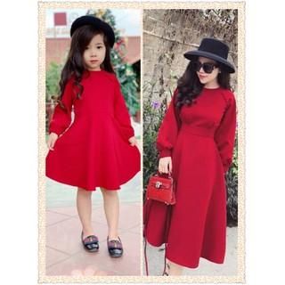 đầm đôi mẹ và bé gái - Damdoi01 thumbnail