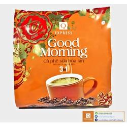 [NHẬP SD5J4Y GIẢM 15K]COMBO 3 Bịch Cafe Sữa Hòa Tan Good Morning 24 gói x 20g