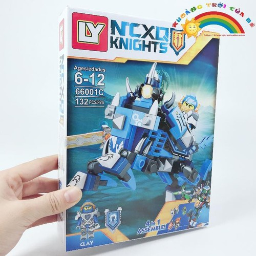 Lắp Ghép Nexo Knight 66001