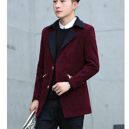 áo khoác blazer túi dây kéo Mã: NK1376 - ĐỎ
