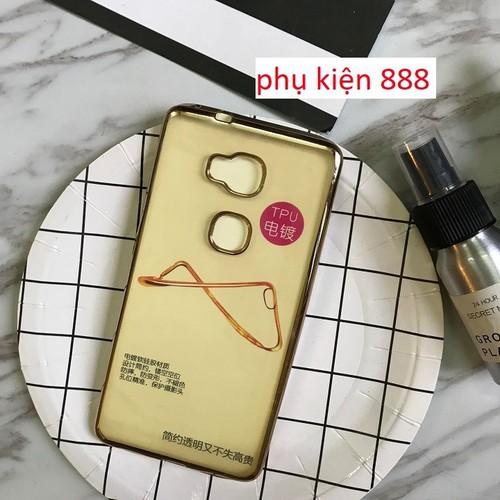 Ốp lưng Huawei GR5 silicon dẻo viền vàng Fashion Case