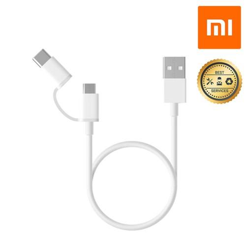 Dây truyền dữ liệu 2 trong 1 - Micro USB và Type C