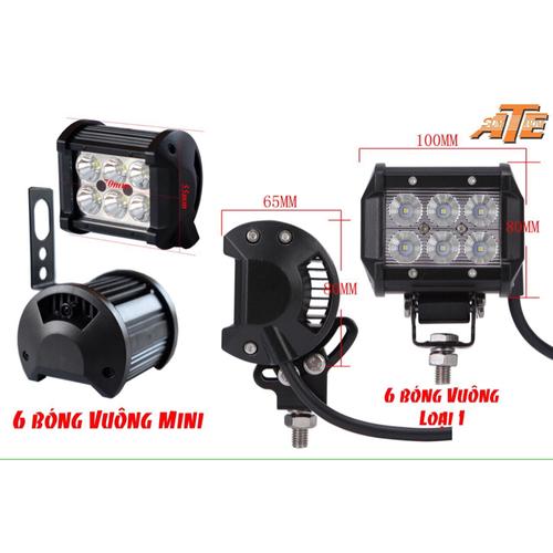 đèn led trợ sáng xe máy c6