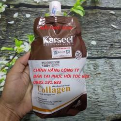 Kem ủ hấp tóc Karseell collagen siêu mềm mượt 500ml chính hãng mẫu mới