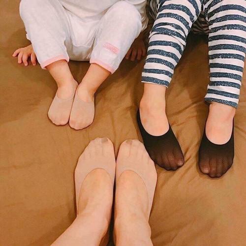 Bộ 10 đôi tất hài da chân cho cả mẹ lẫn bé