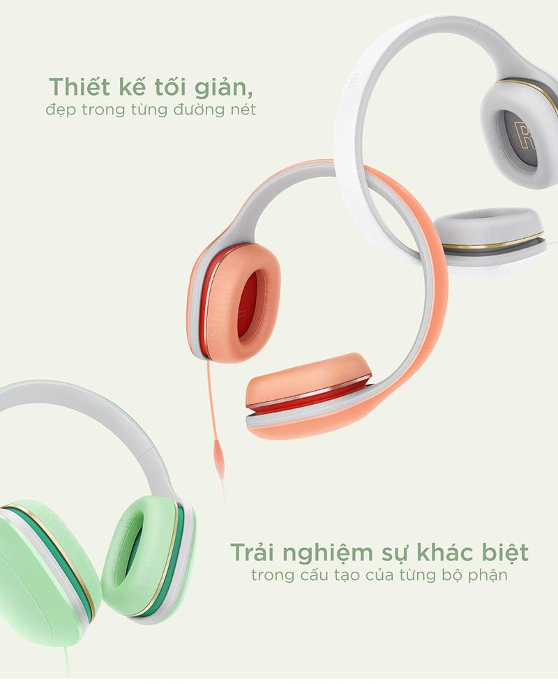 Tai nghe chụp tai Xiaomi Mi Headphones Comfort - Xanh lá 2