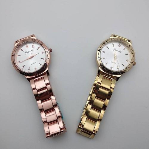 [ SALE ] Đồng hồ Yagexing mặt đính đá cực kì sang trọng với 2 loại dây vàng và hồng cho bạn lựa chọn - ya5 - 7292348 , 13967259 , 15_13967259 , 248000 , -SALE-Dong-ho-Yagexing-mat-dinh-da-cuc-ki-sang-trong-voi-2-loai-day-vang-va-hong-cho-ban-lua-chon-ya5-15_13967259 , sendo.vn , [ SALE ] Đồng hồ Yagexing mặt đính đá cực kì sang trọng với 2 loại dây vàng và