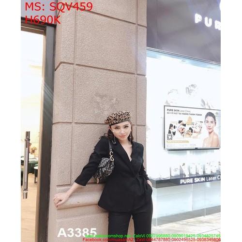 Sét áo vest dài tay và quần dài màu đen cá tính SQV459 - 7300487 , 13971885 , 15_13971885 , 690000 , Set-ao-vest-dai-tay-va-quan-dai-mau-den-ca-tinh-SQV459-15_13971885 , sendo.vn , Sét áo vest dài tay và quần dài màu đen cá tính SQV459